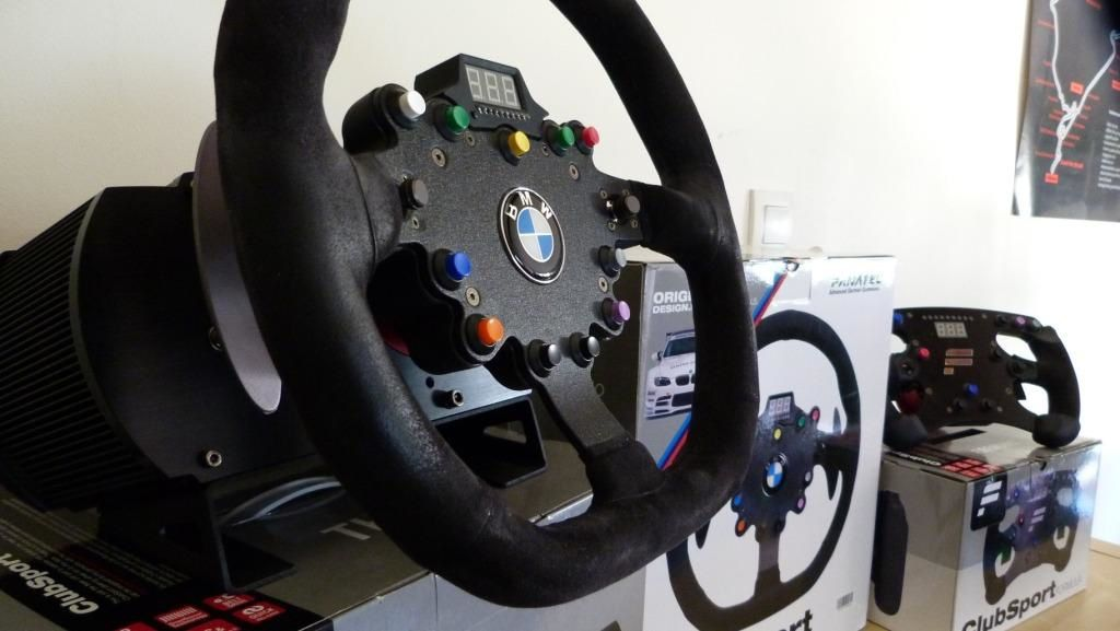 Le clubsport wheel v1 de fanatec simrace blog