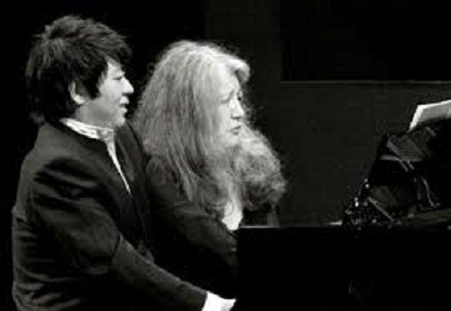 Le salon de musique valaisan de Martha Argerich.