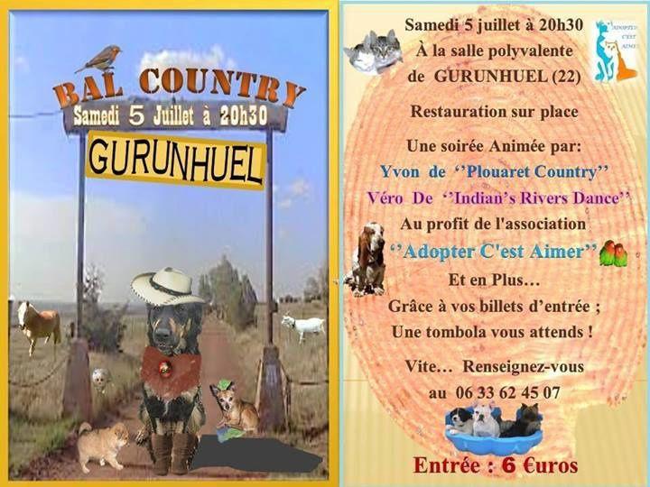 bal country et line du 5 juillet 2014