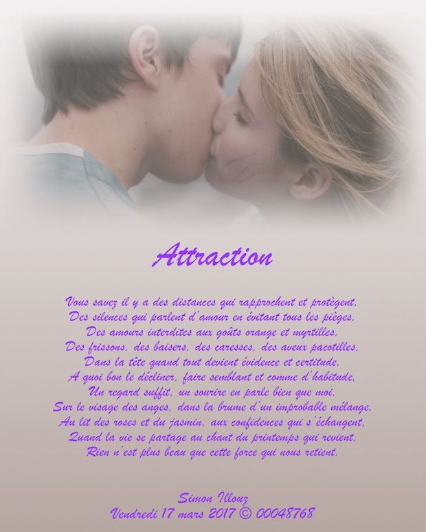 Attraction...