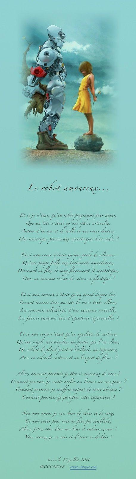 Le robot amoureux...