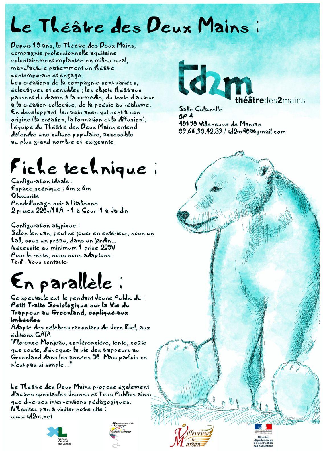 Un Ours dans mon Frigo - Petit conte gelé..