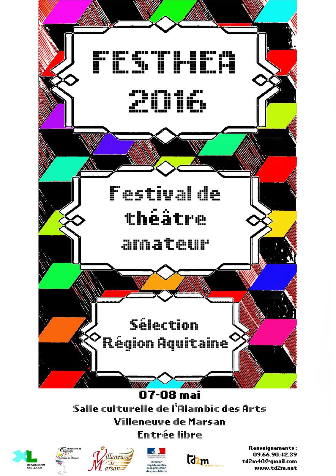 Festhea 2016 - le programme des 07 et 08 mai à l'Alambic