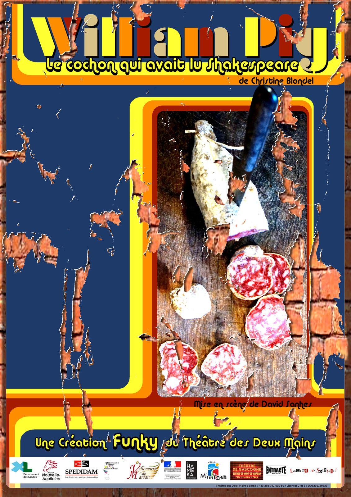 Petit pack William Pig - L'affiche/Le Teaser/Les dates