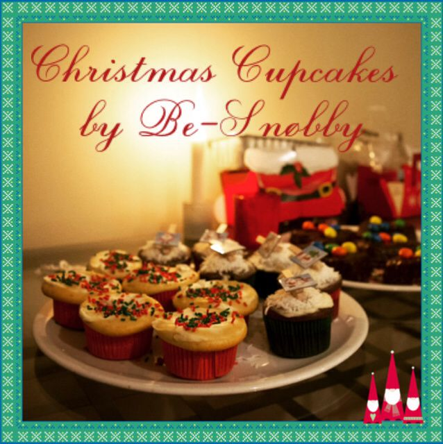 Christmas Cupcakes by Be-Snøbby