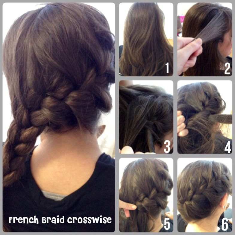 French Braid crosswide