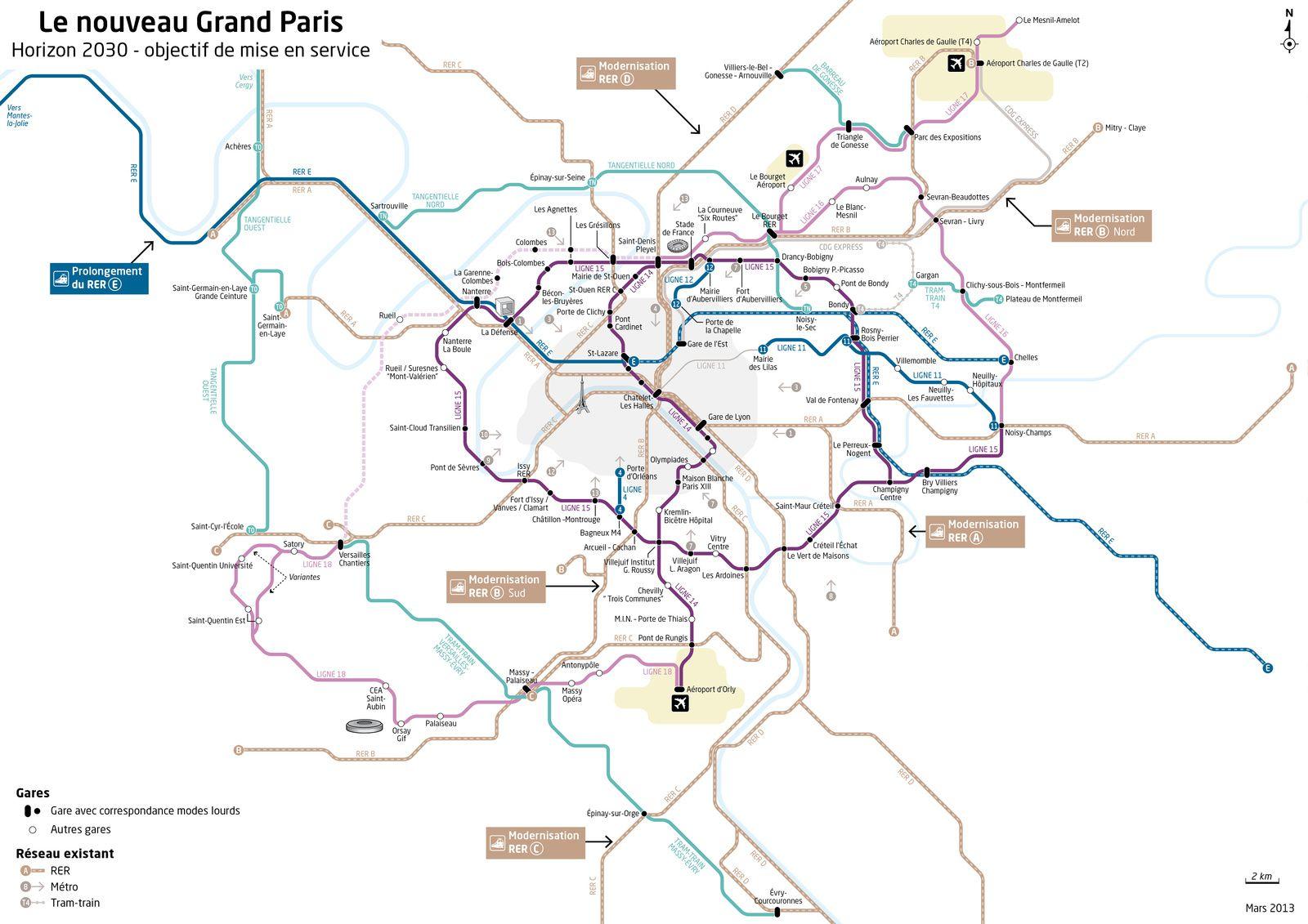 Où le métro du grand Paris prend du plomb l\'aile à Champigny - le ...