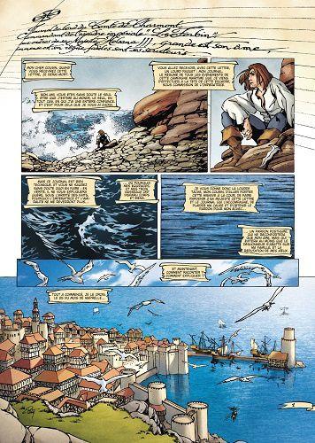 À l'abordage!   /   La Geste des Chevaliers dragons. La mer close   Vs.  Le corsaire rouge