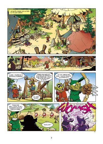 Jeunesse Fantasy (ste)  /  Goblin's 10  Vs.  L'Attaque des tomates tueuses