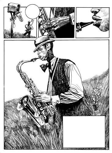 L' Artiste du Mois: Toppi  /  Blues  Vs.  Voodoo Child