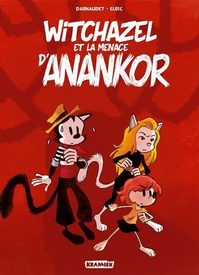 Aventureuse Jeunesse  /  Les folles aventures de spirou  /  Witchazel et la menace d'Anankor