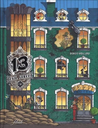 Un Hôtel pas comme les autres!  /  13 Devil Street 1940  Vs.  Arabesque