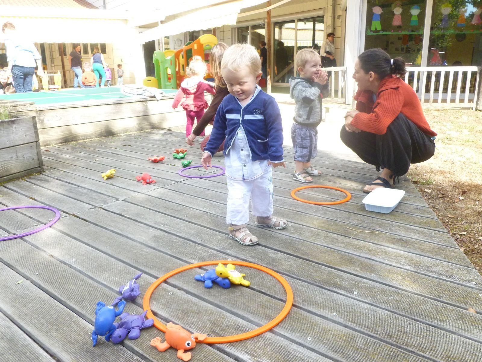 Les plus petits du groupe des bébés ont aussi fait leur kermesse !
