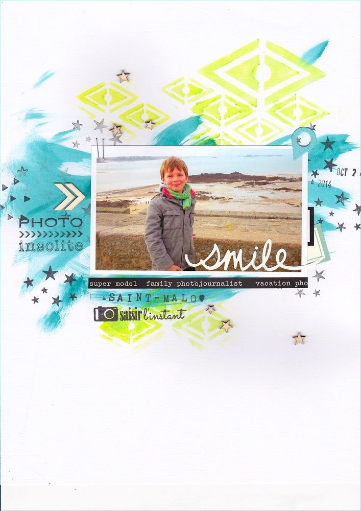 Une page - * Smile *