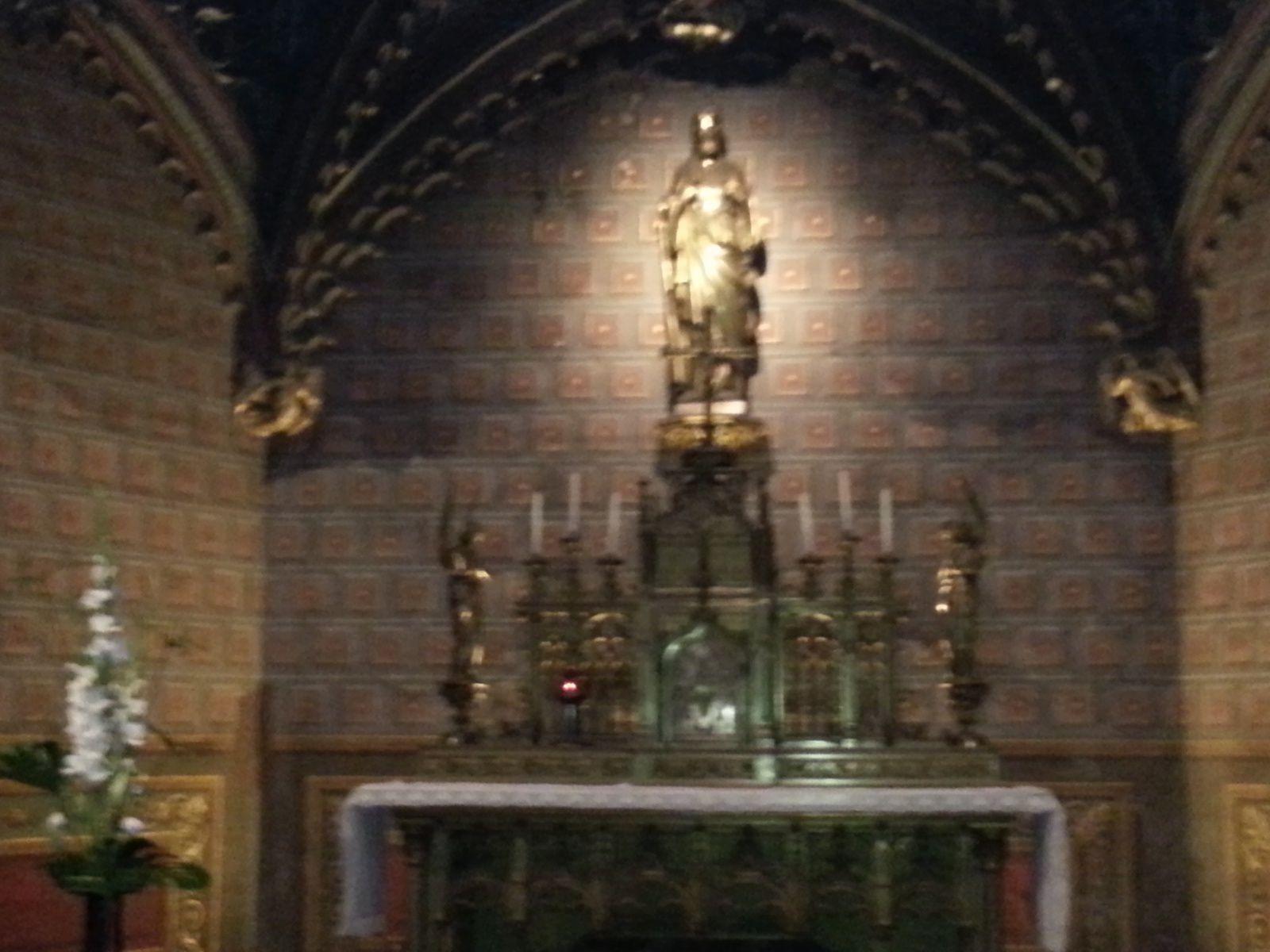 La chapelle du Saint Sacrement.