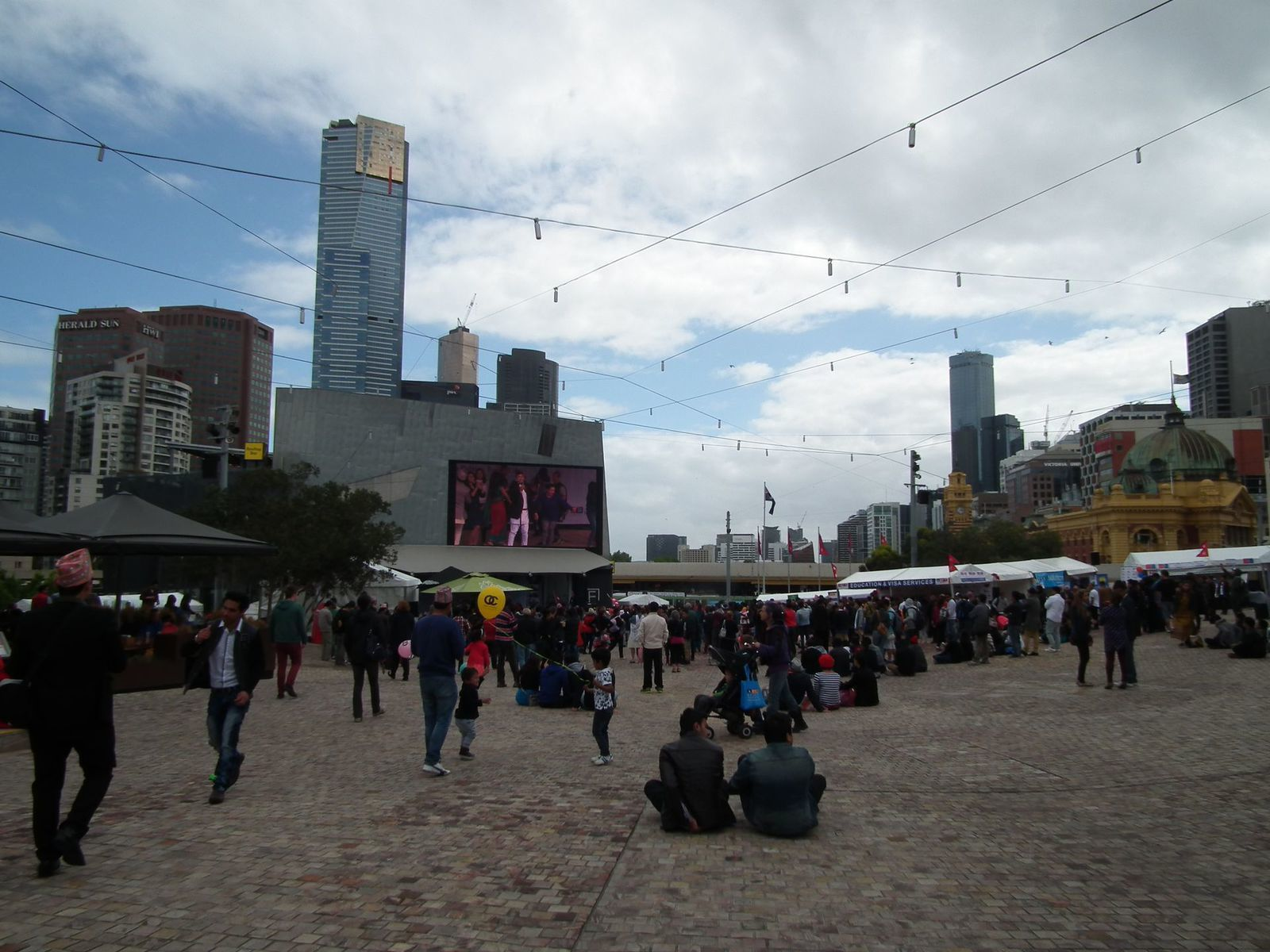 Heatcote, blue wren, fed square, view of Melbourne