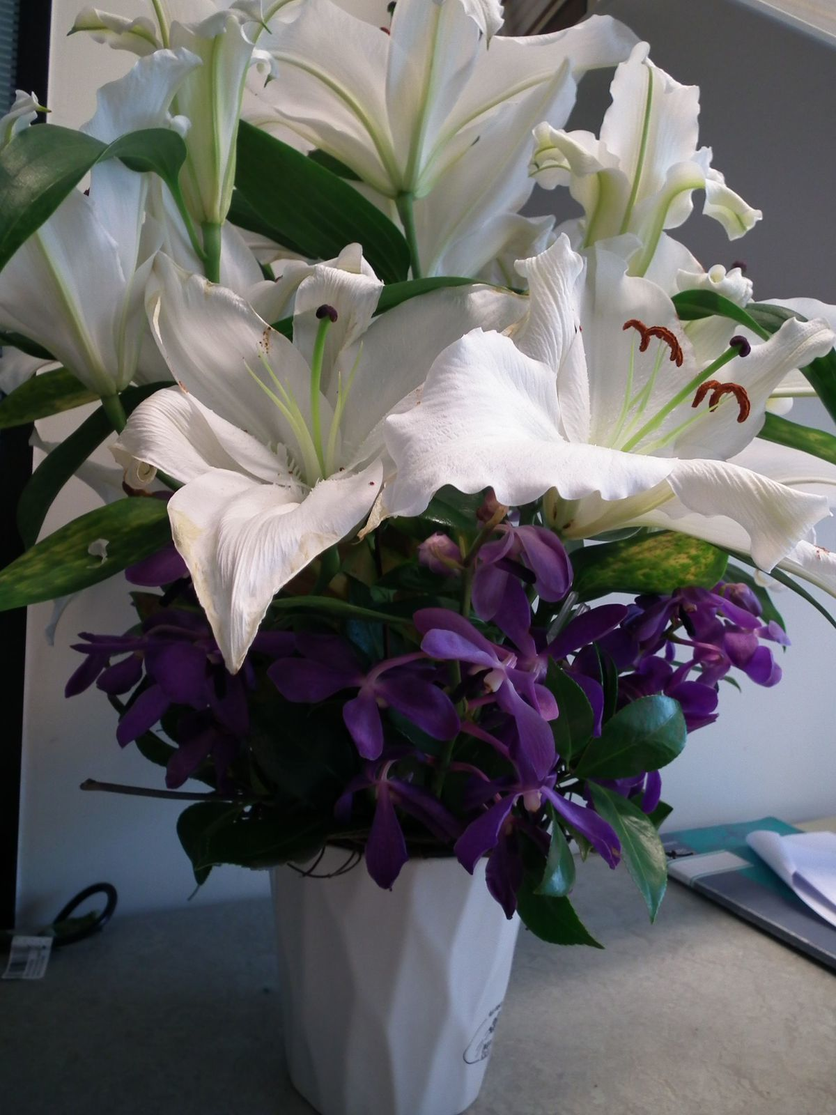 Un beau bouquet qui sent admirablement bon!