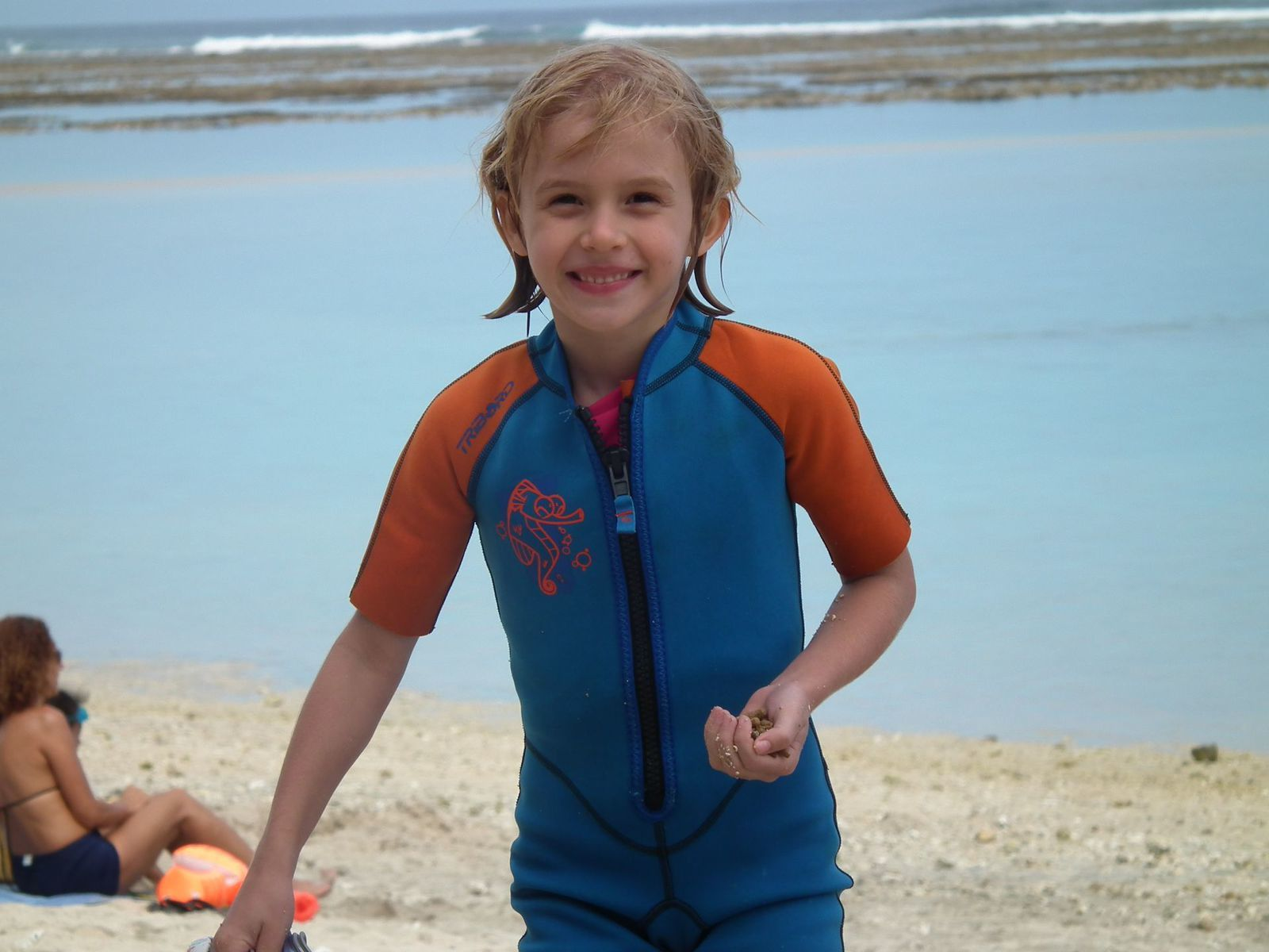 Quand Madonie part en vacances à la plage