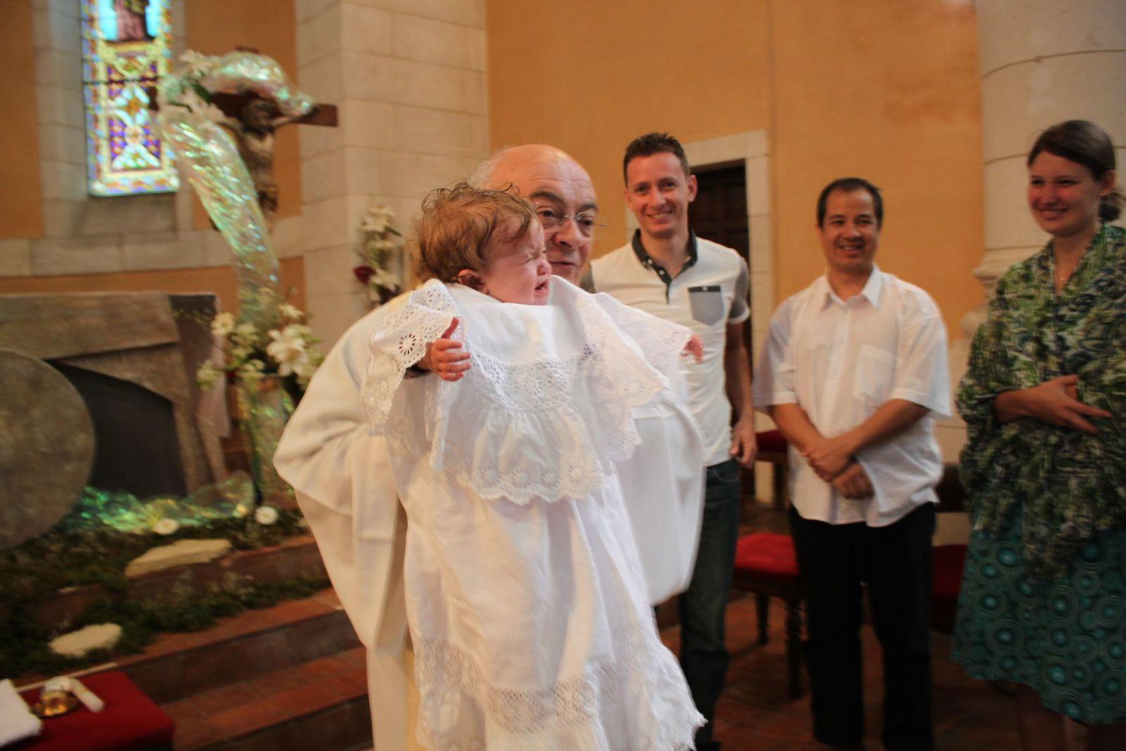 Le baptême de Madonie à Dax - 23 avril 2017