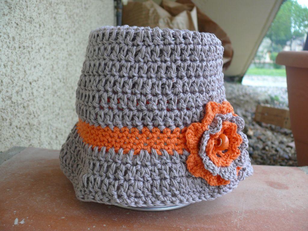 Bonnet Cloche selon tuto &quot&#x3B;les petites créations de Rosalie&quot&#x3B;