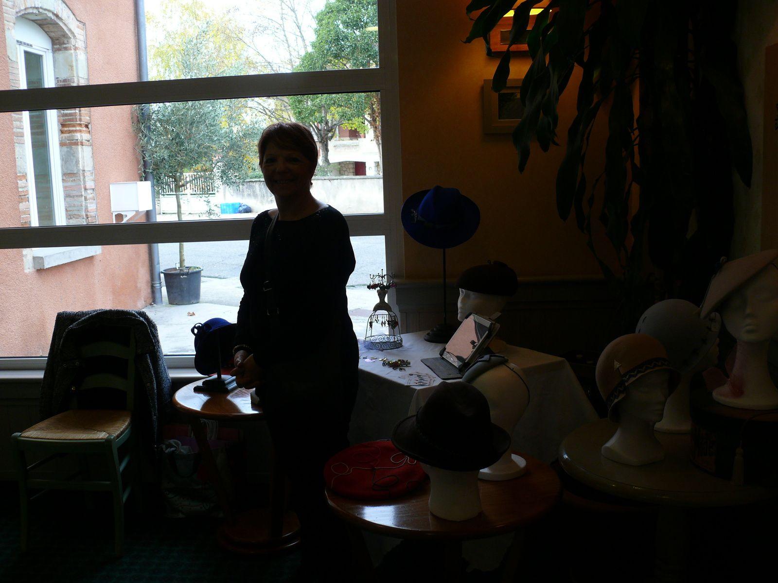 micro marché de l'hôtel ibis à lavaur le 12/11