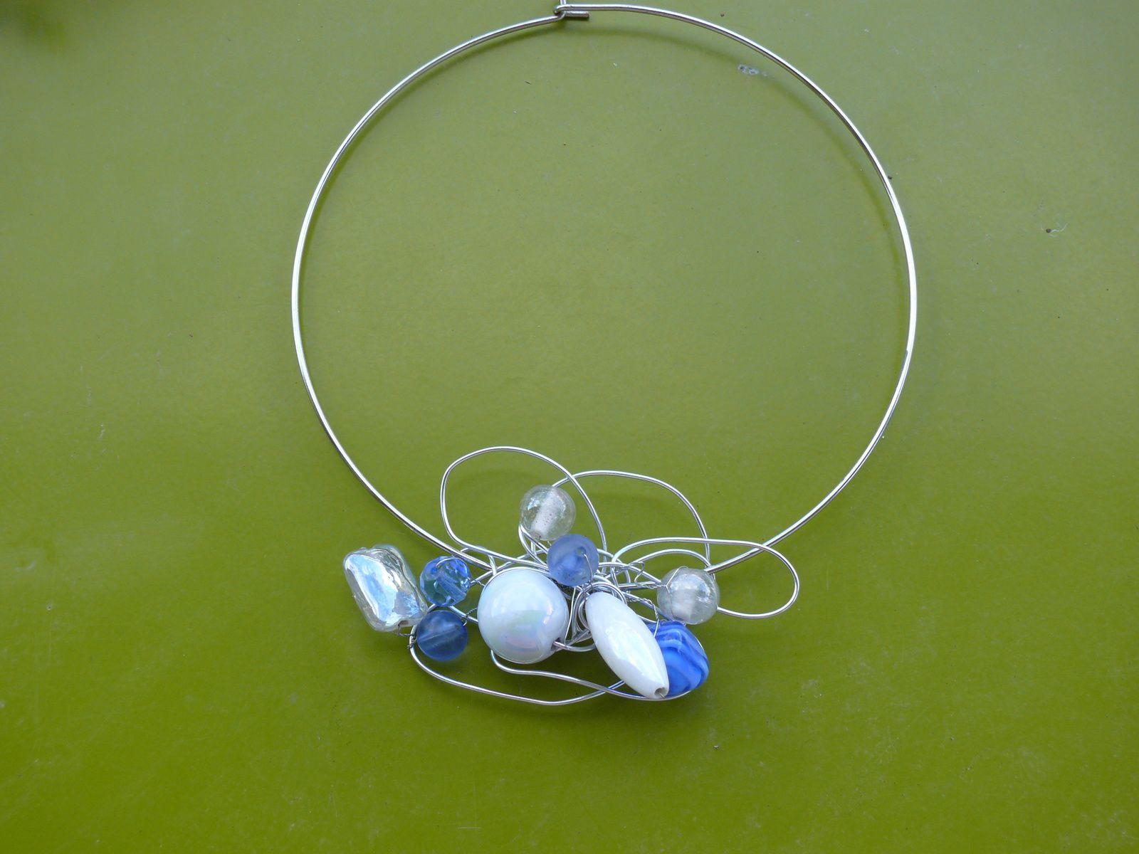 Série bleue et turquoise