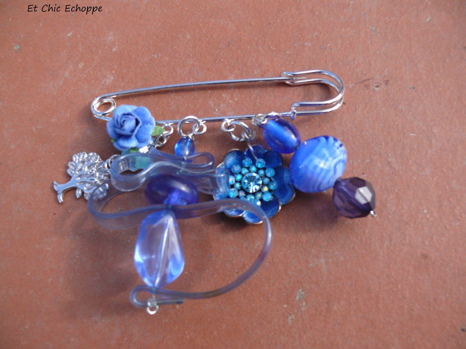 créations bleues