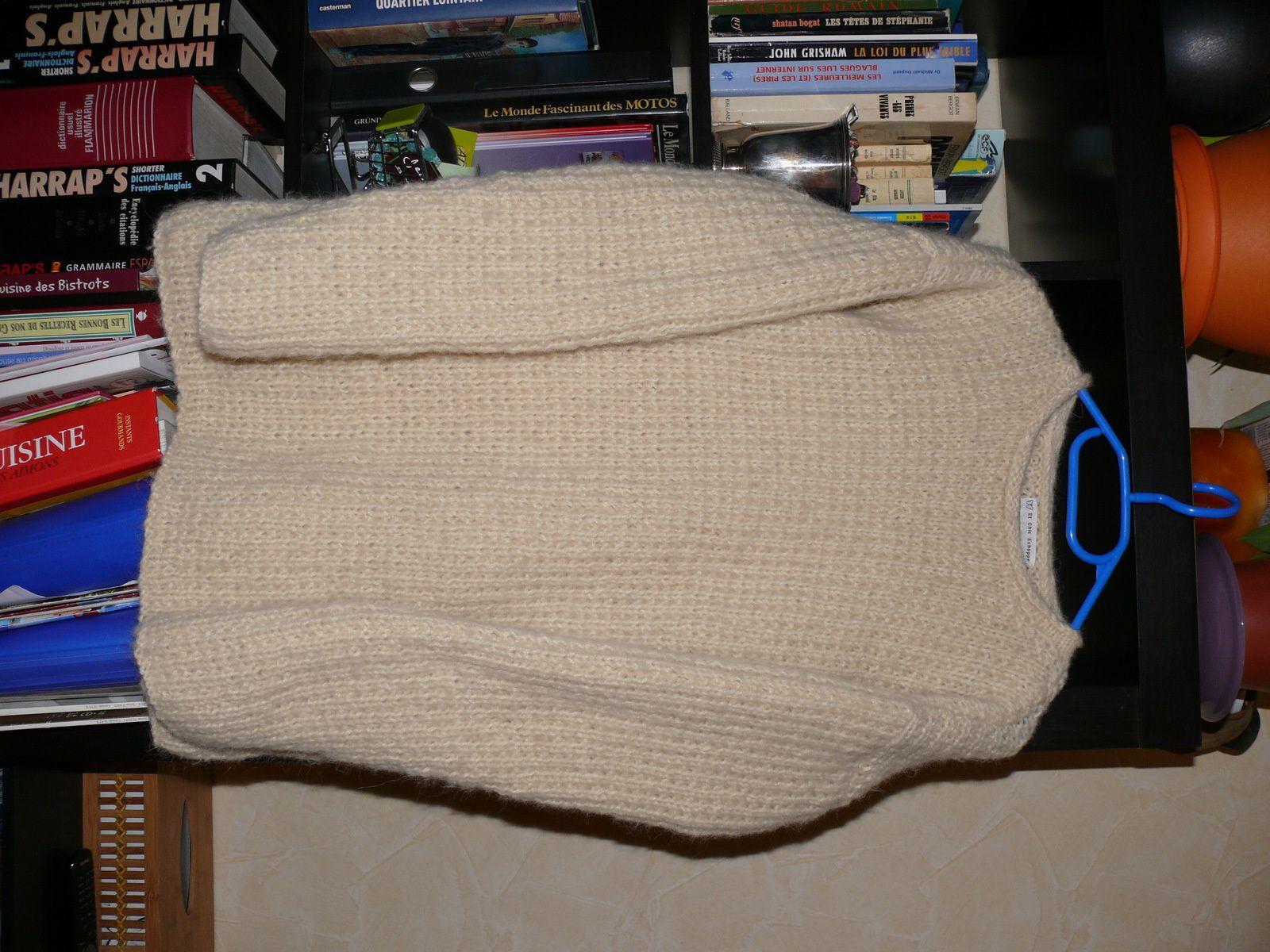 pull en laine bergère de France pour une collègue