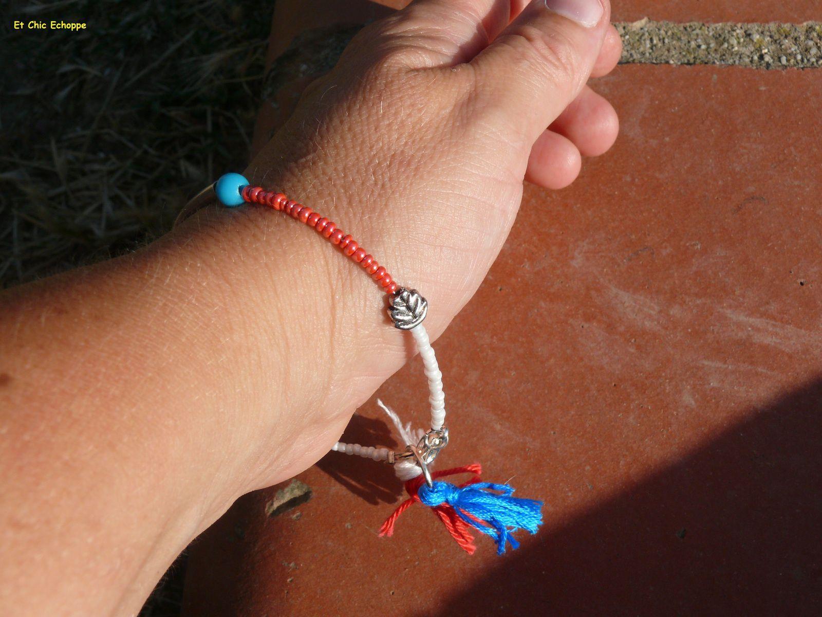 Bracelets en perles de rocailles