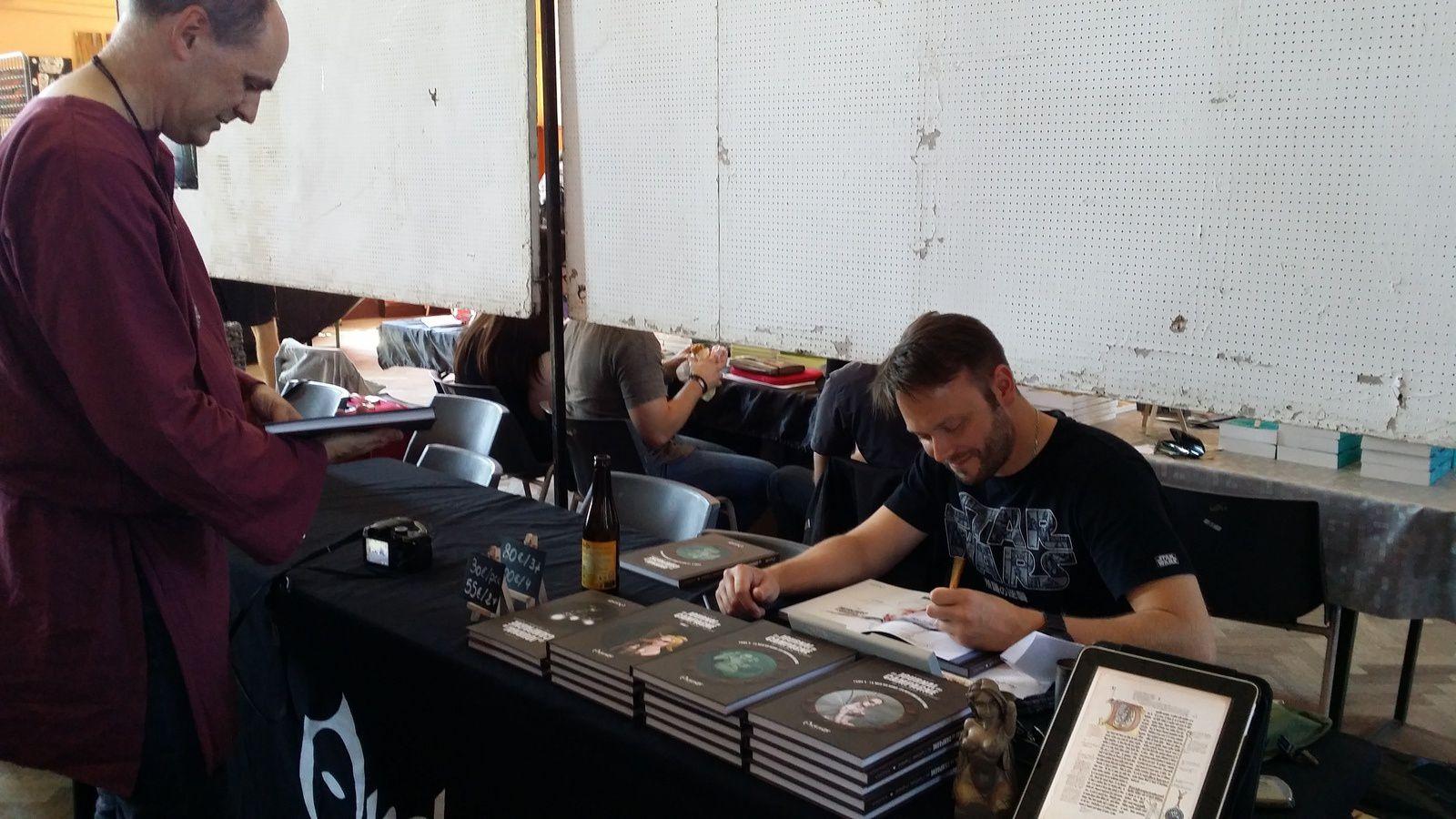 Salon littéraire Festiv'arts 2015 : compte-rendu.