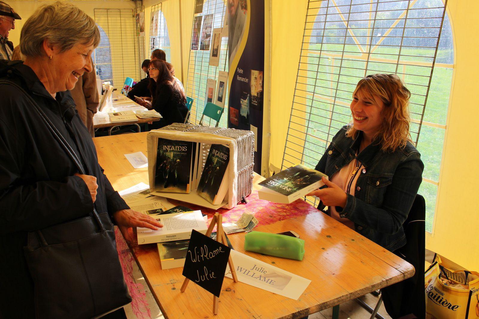 Salon littéraire d'Ouffet 2015 : compte-rendu.
