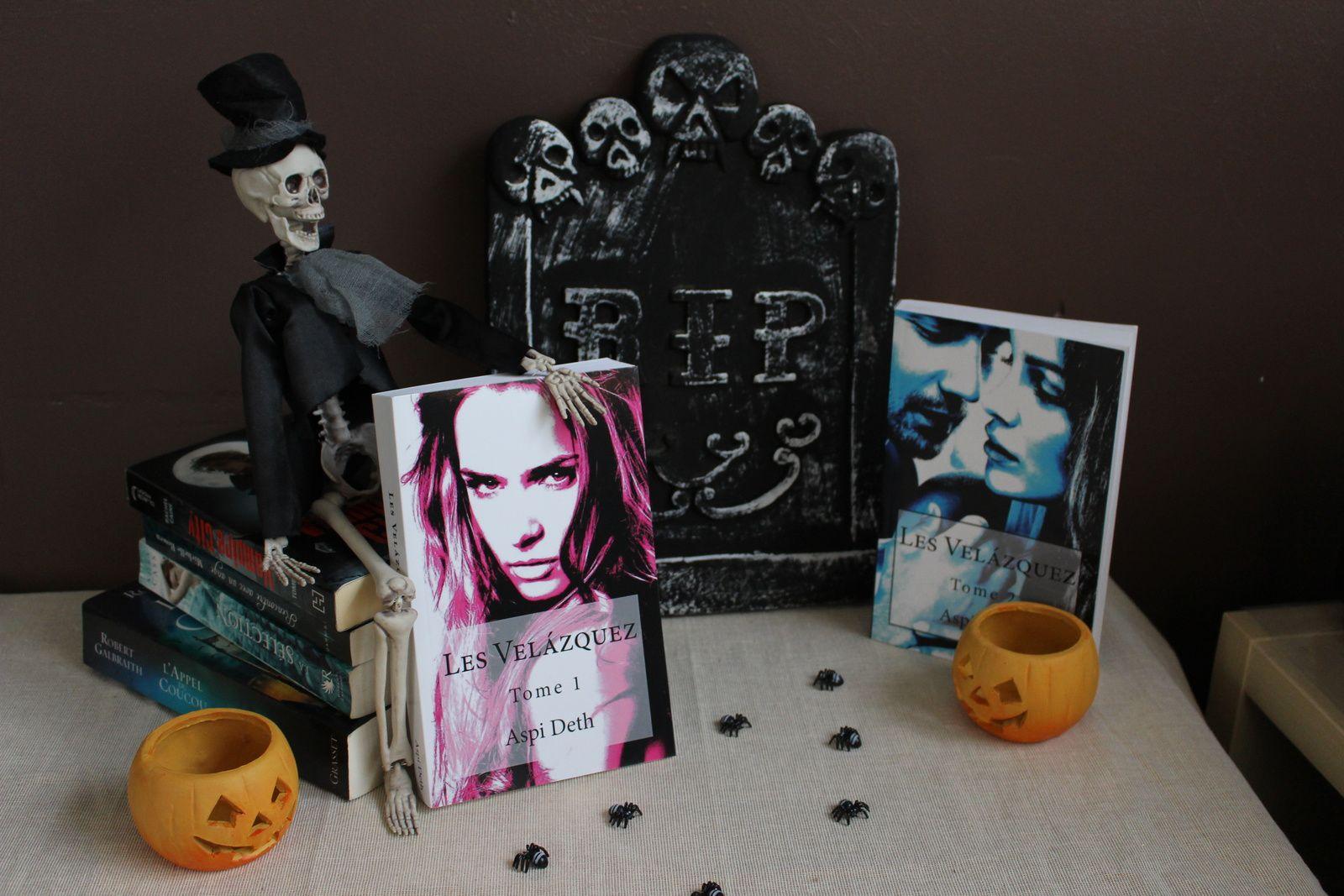 Halloween tag + déco d'enfer + vidéo très spéciale...