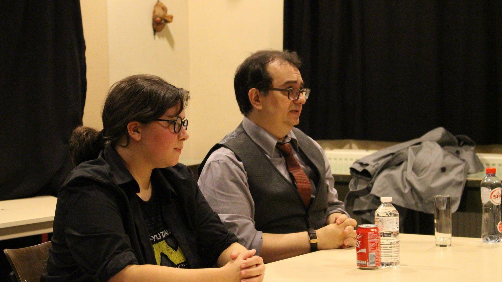 Rencontre littéraire sur la Fantasy avec Pierre Pevel & Astrid Méan : photos + vidéo !