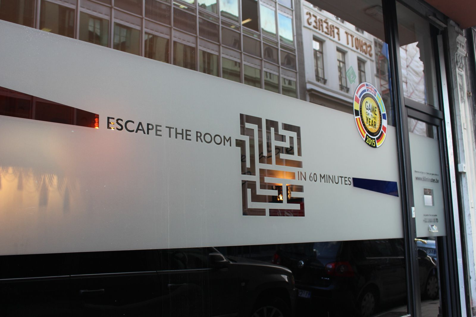 Escape The Room in 60 minutes !