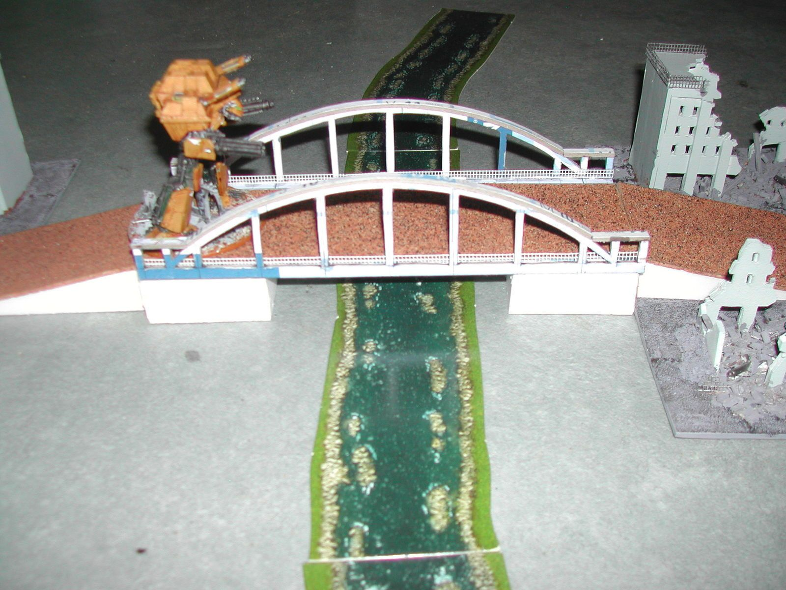 EPIC : un deuxième pont en construction