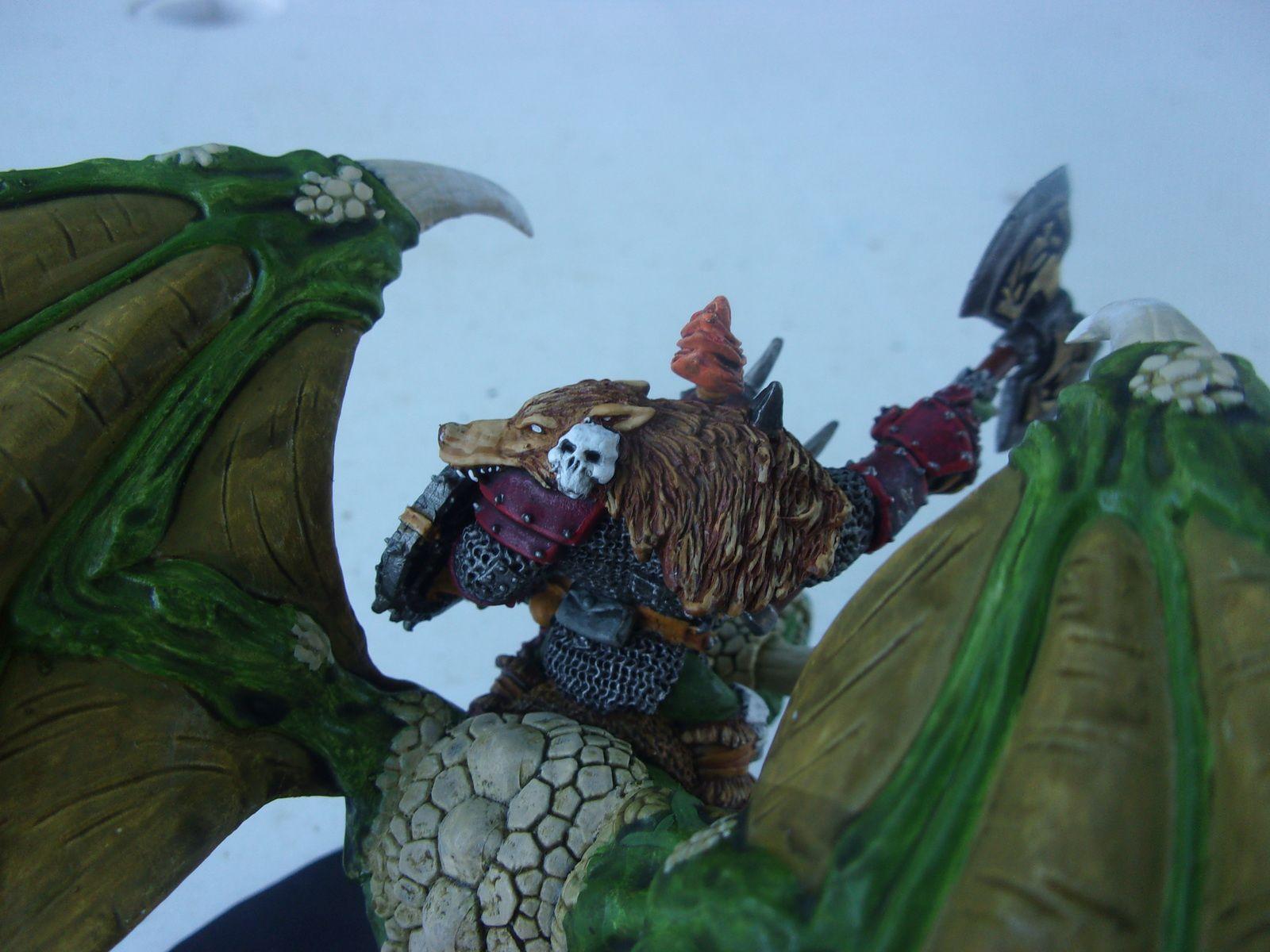 Boss Orque sur Wyvern