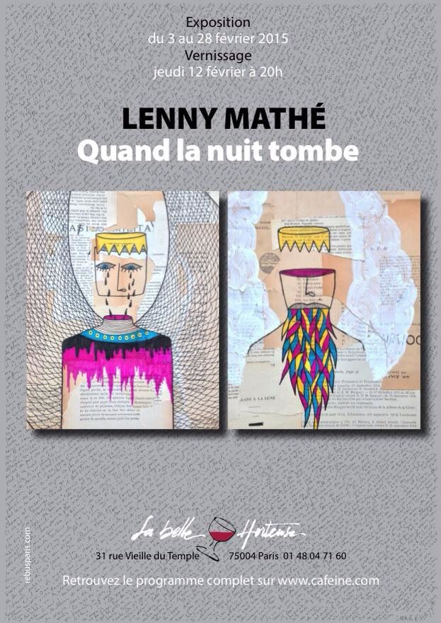 Exposition !  Lenny Mathé au Demory à Paris !