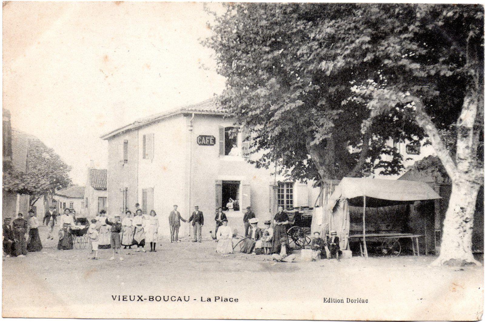 VIEUX BOUCAU Le marché en 1903