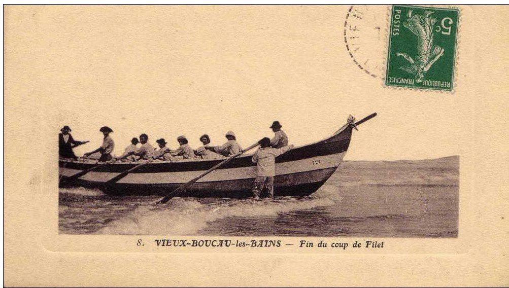 Vieux BOUCAU pêche à la Pinasse