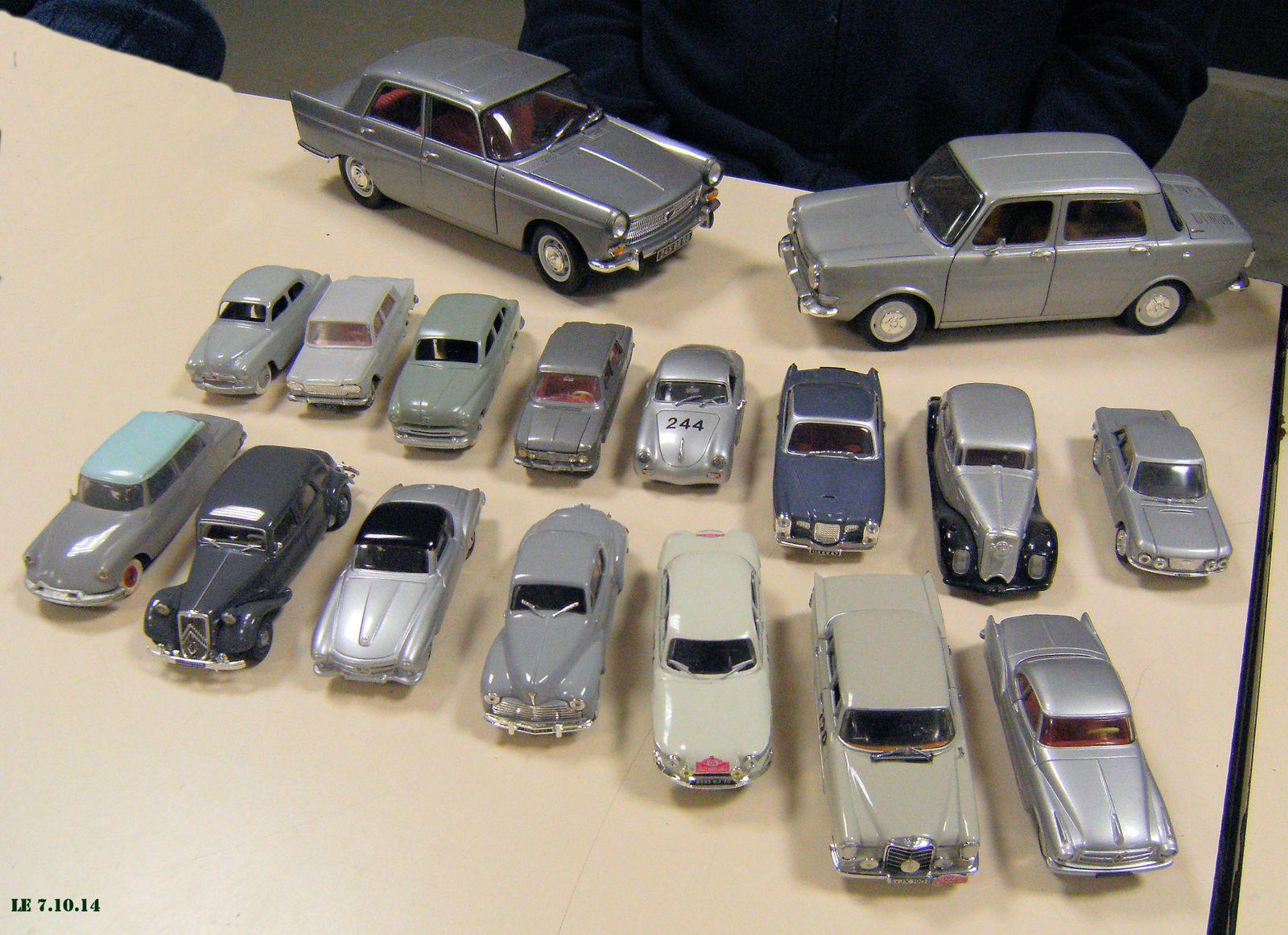 Thème de la soirée : les véhicules gris .