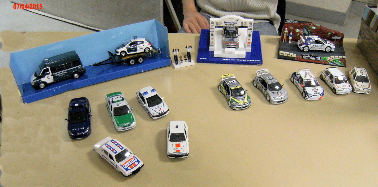 Thème de la soirée : les véhicules de polices et le Tours de Corse .