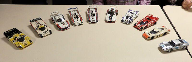 les Porsche ( des origines à nos jours )