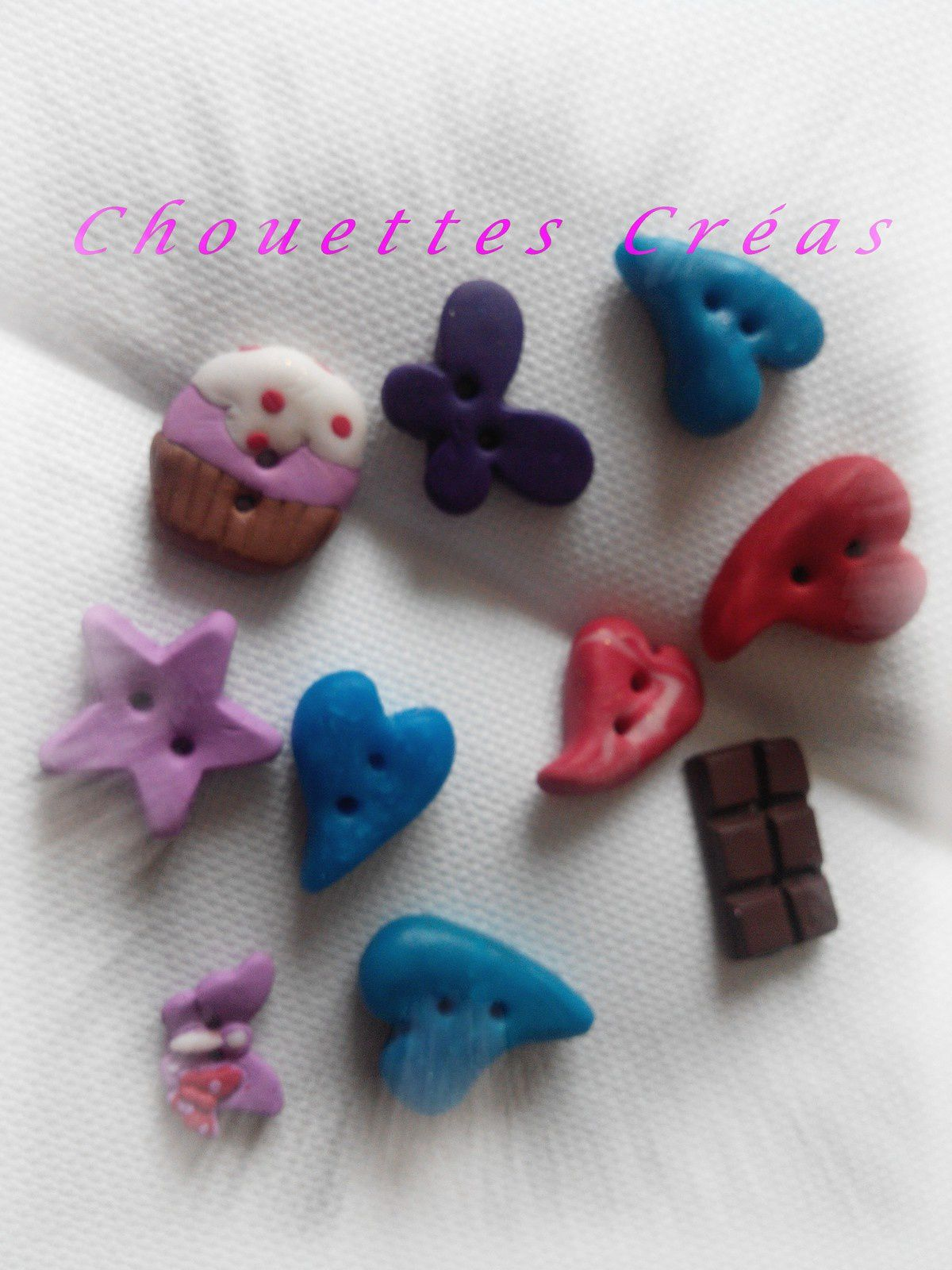 fimo et attaches tututes