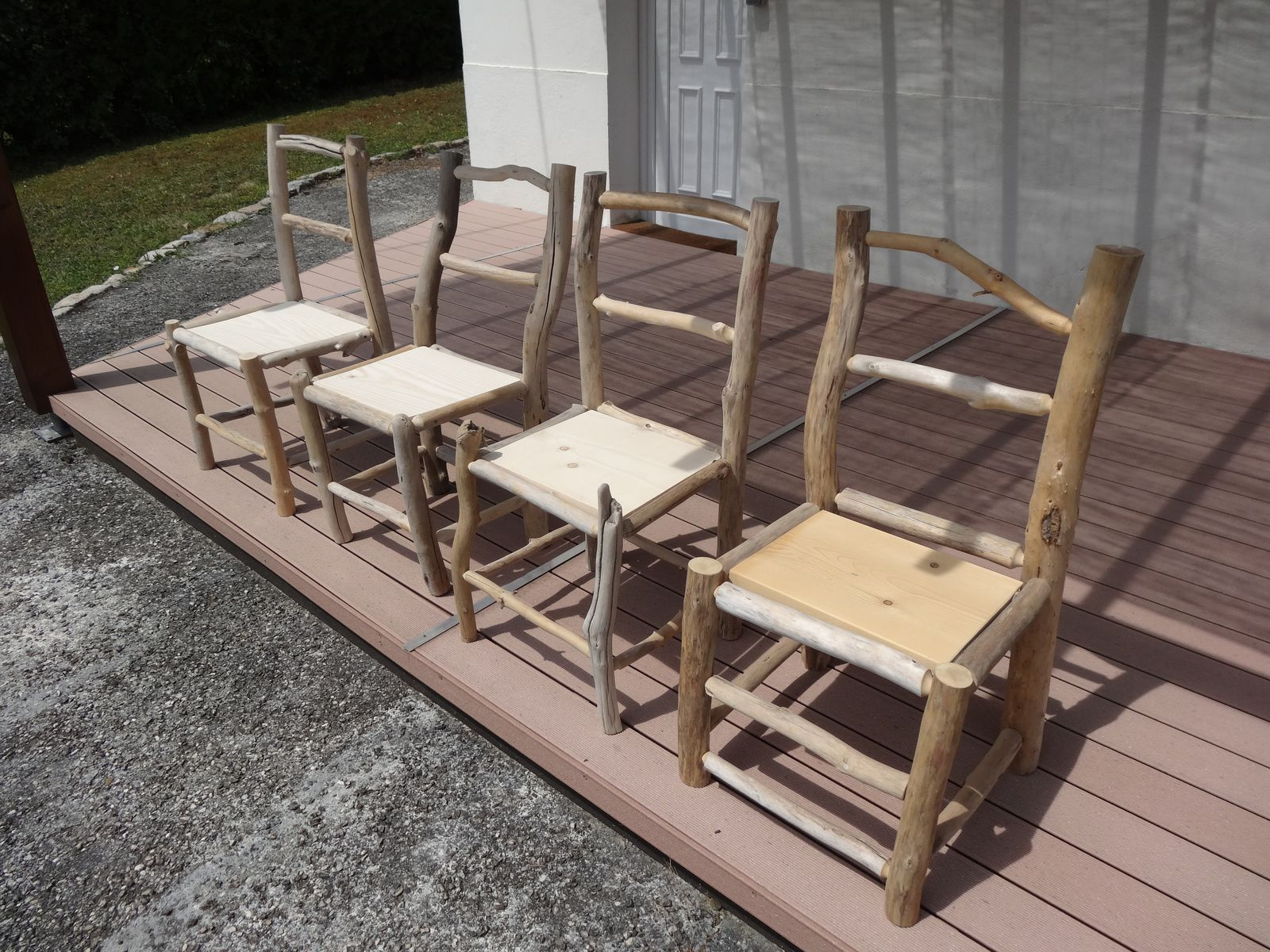 Mobilier le blog de oboisdormant bois flott Salon de jardin bois local