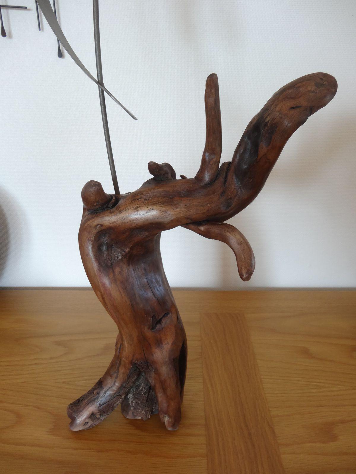 Grand soliflore en bois flotté Ôboisdormant