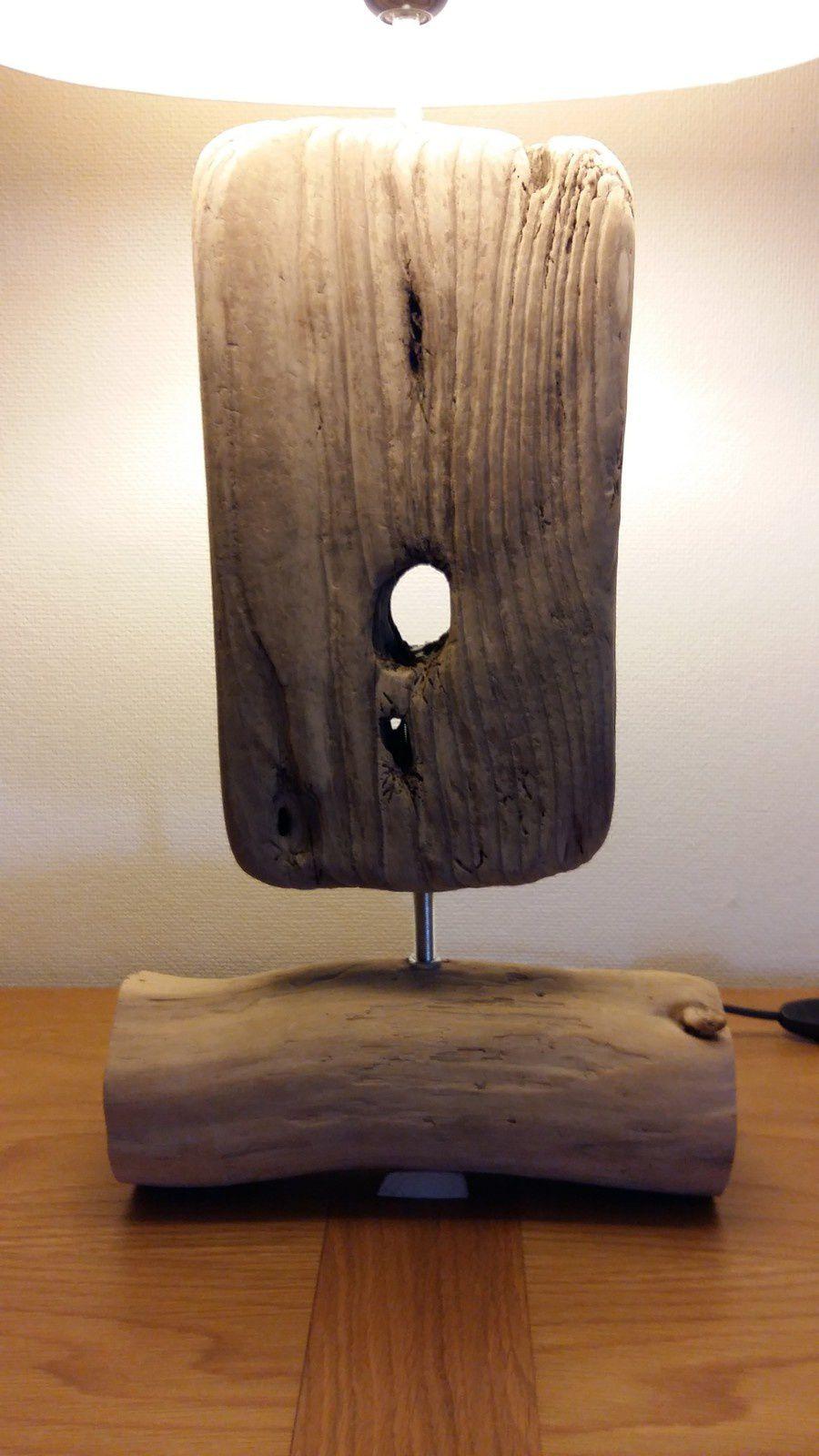 Lampe en bois flotté &quot&#x3B;magique&quot&#x3B; !!!