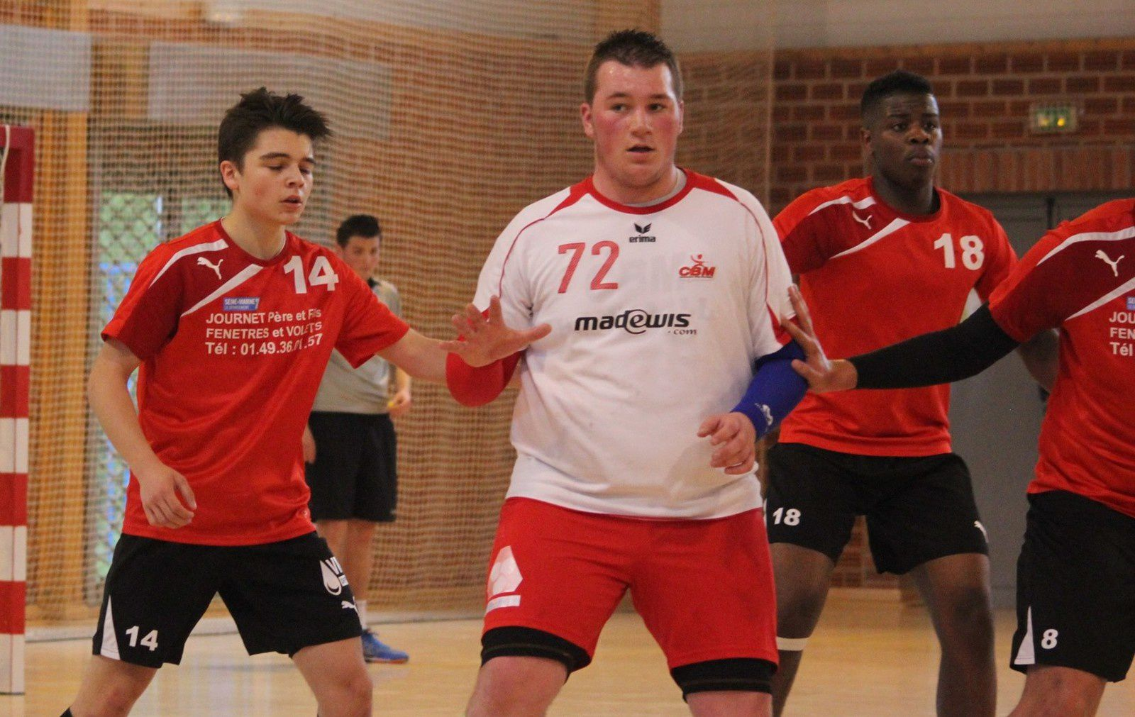 BILLY MONTIGNY vs TORCY HB MLV (CdF -18M) 12.04.2014