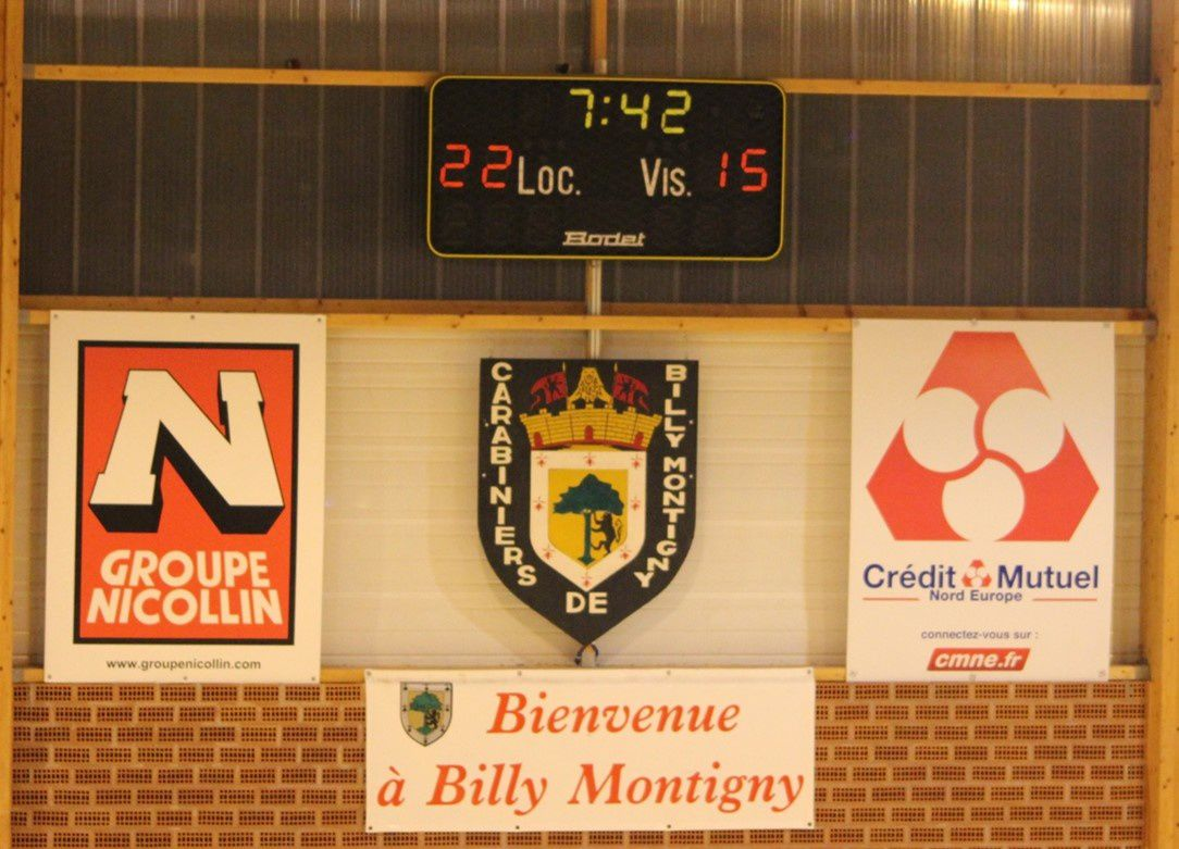 BILLY MONTIGNY vs TORCY HB MLV (N2M) 12.04.2014