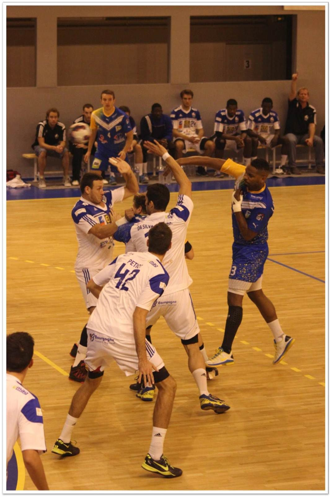 Pontault-Combault HB vs Dijon Bourgogne HB (ProD2 - 13.09.2014)