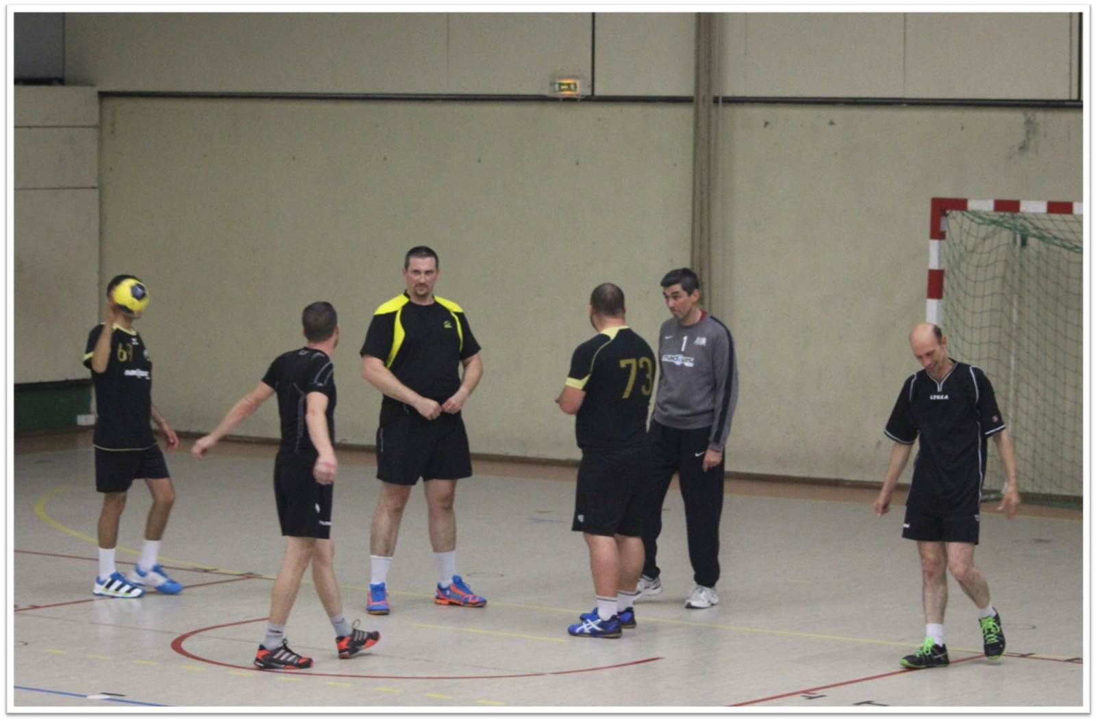Vétérans THBMLV vs AULNAY (Région - 03.10.2014)